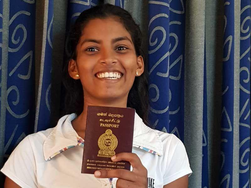 Sodi und ihr erster Reisepass