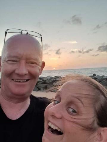 Selfie-Blödeleien mit Frank