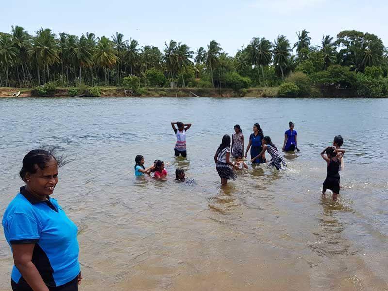 Der Deduru Oya Fluss