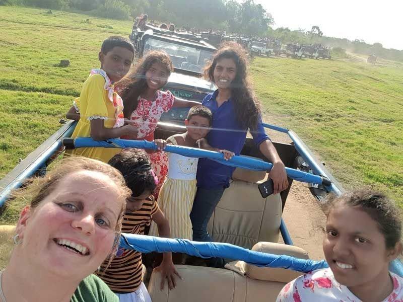 Meine Gruppe bei der Jeep Safari
