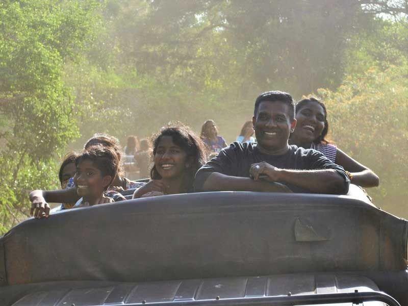 Auch unser Fahrer Dissa hatte Spaß.