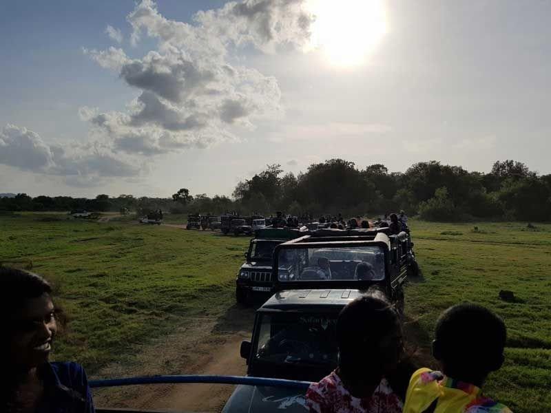 Unsere Jeep Kolonne