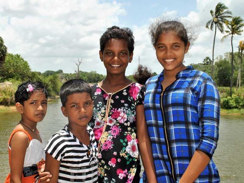 Mayomi, Shanika, Nethmi und Nethmini