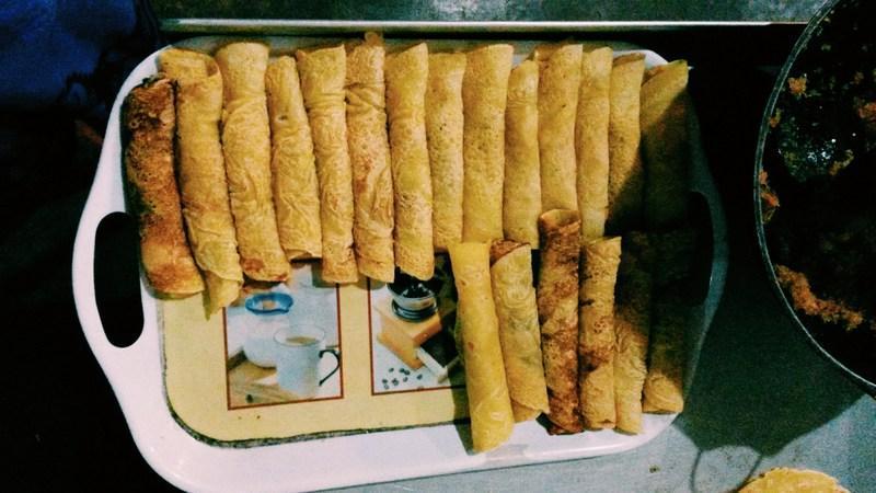Neues Lieblingessen: Pancakes mit Kokosfüllung