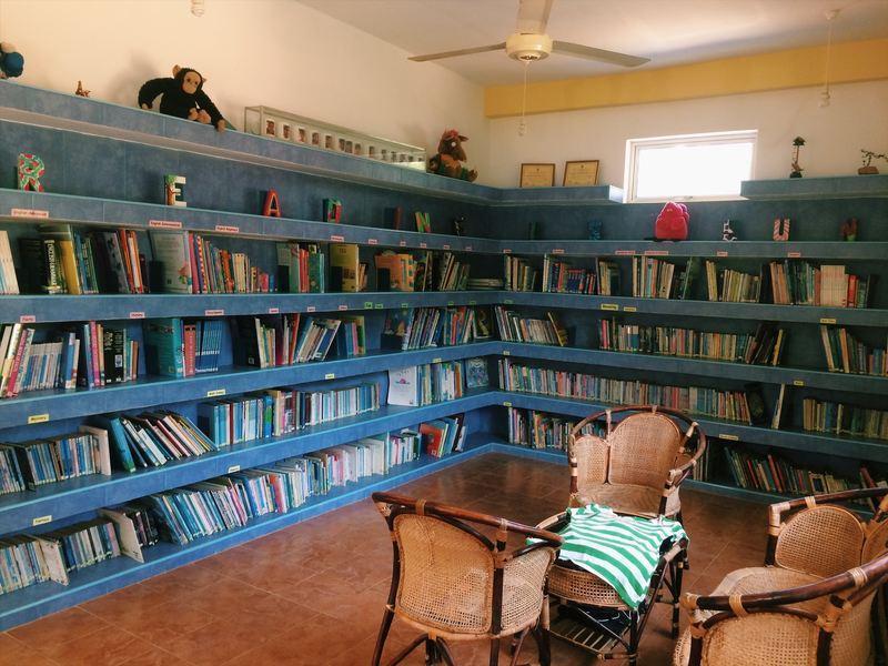 Ein Ort zum Lesen und Stöbern
