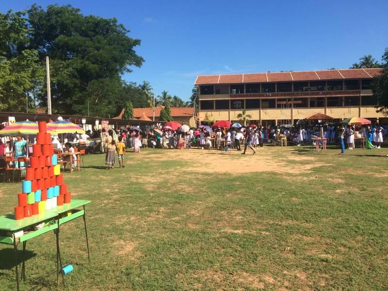 Ein singhalesisches Schulfest