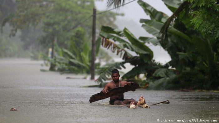 Heftiger Monsumregen in Sri Lanka! Bildquelle: dw.com