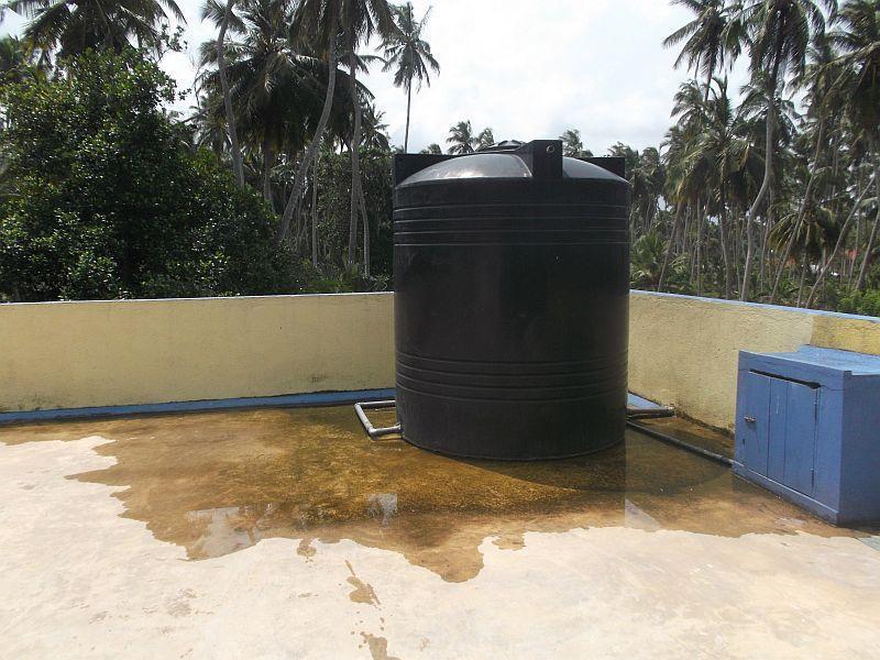Der-Wassertank