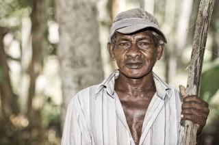 Über 70 Jahre alt und kann nicht aufhören zu arbeiten.