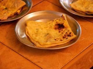 Singhalesische Egg Rotis selbst gemacht