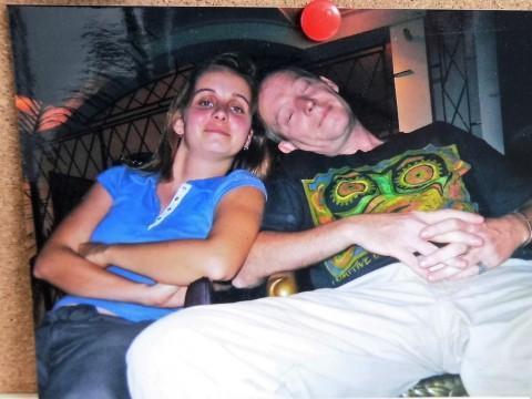 Foto von Frank und mir vom August 2006