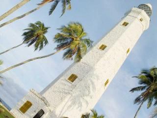 Der Leuchtturm hat eine Höhe von 54 Metern