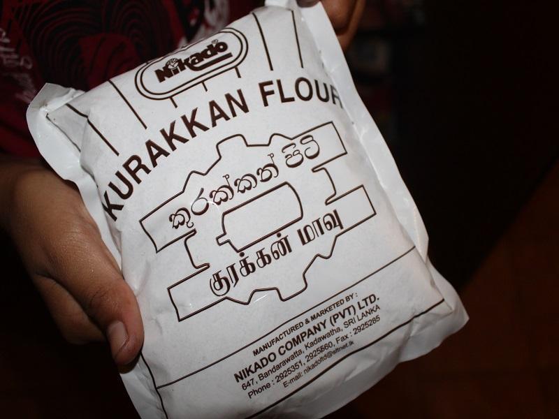 Kurakkan Mehl in einer 400 Gramm Packung