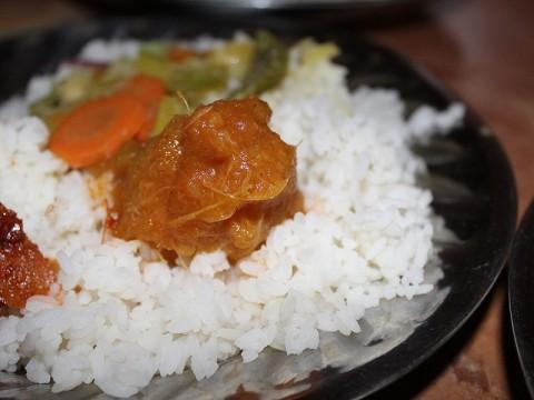 Ambarella mit Reis