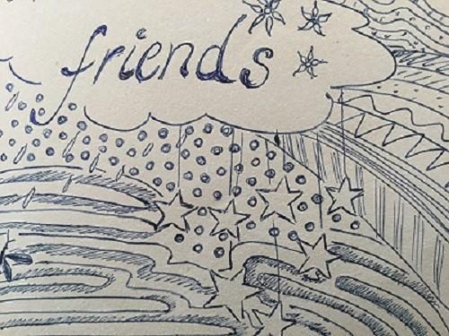 Aus einem Freundschaftsbuch
