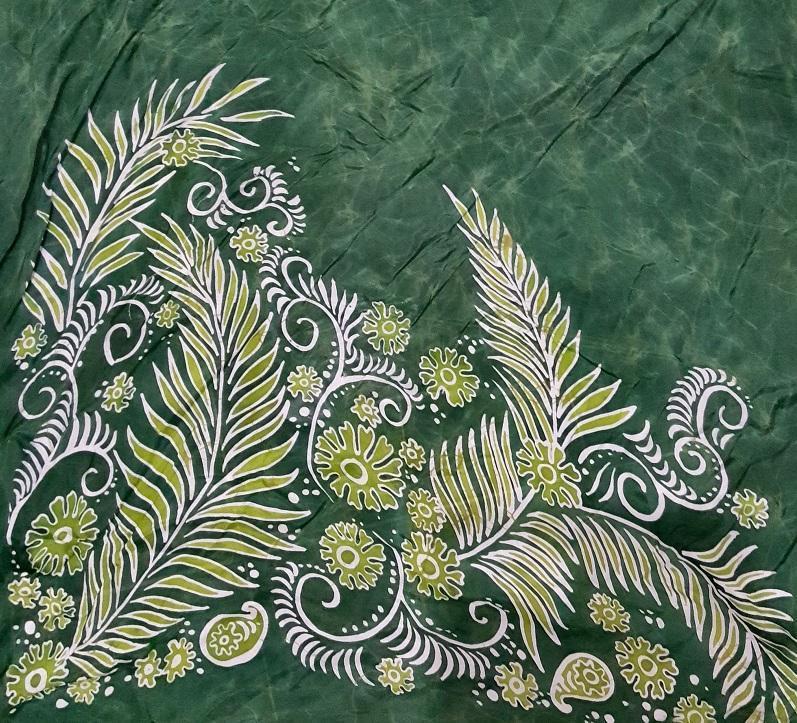 Kunstwerk in Batik