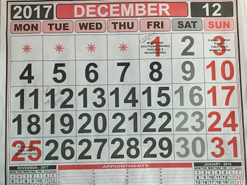 Schon bald Dezember..