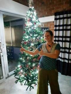 Unser schöner Weihnachtsbaum