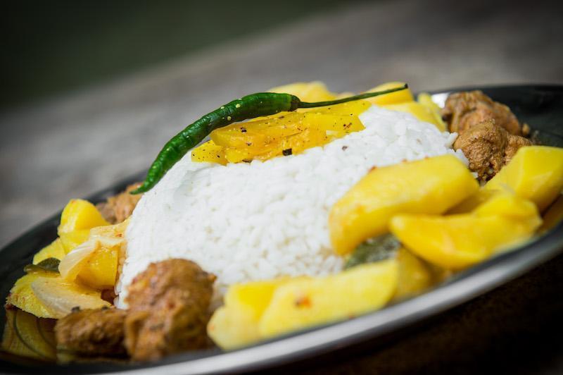 Rezept: Kartoffel Curry