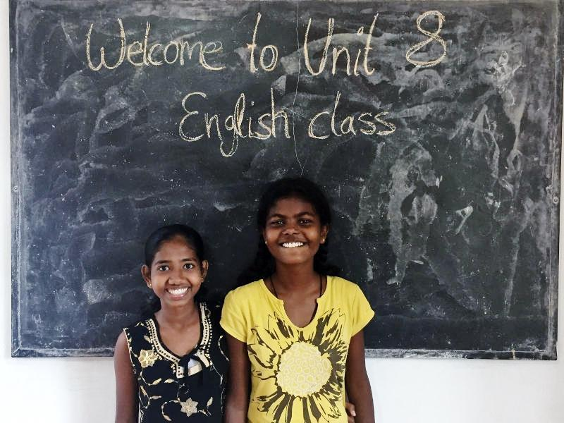 Piumi und Maduwanthi sind bereits in Unit 8