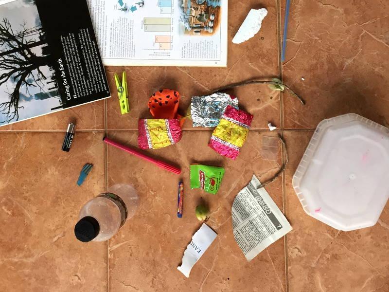 Die gefundenen Gegenstände