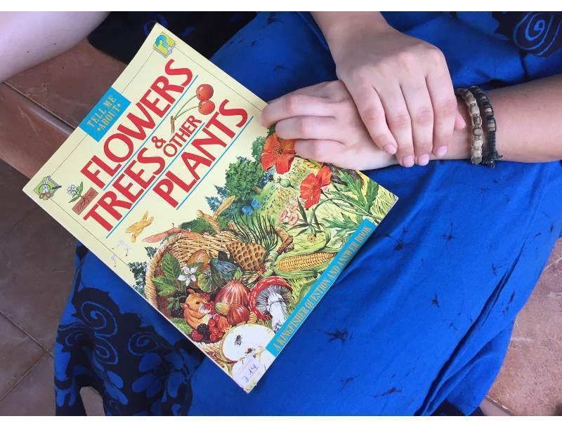 Buch zum Thema Pflanzen