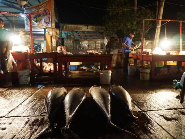 Verkaufsstände in Negombo