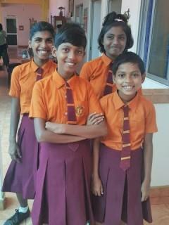 Kumari, Achini, Tharushika und Bodika