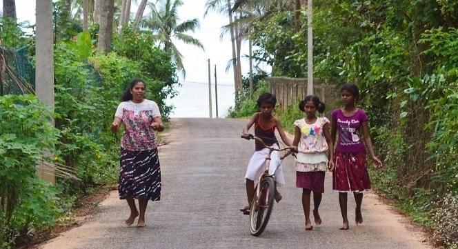 Auch Fahrrad fahren will gelernt sein