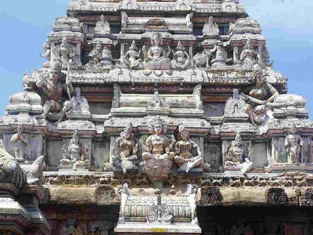 Munnessaram Tempel von ausßen