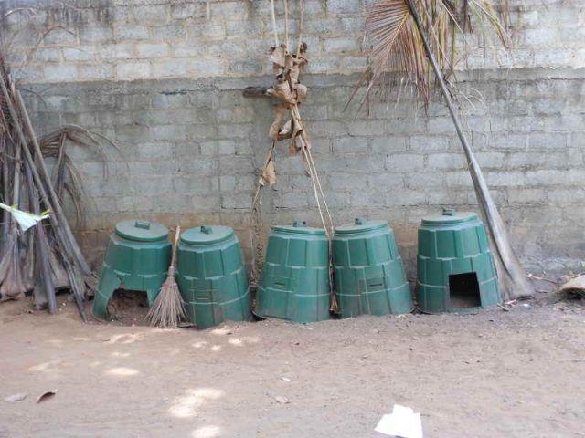 Mülltrennung ist auch hier wichtig