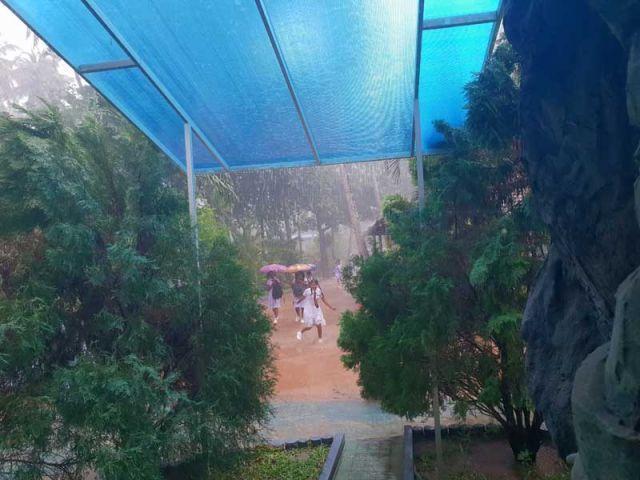 Dauerregen und heftige Gewitter die ganze Woche schon!