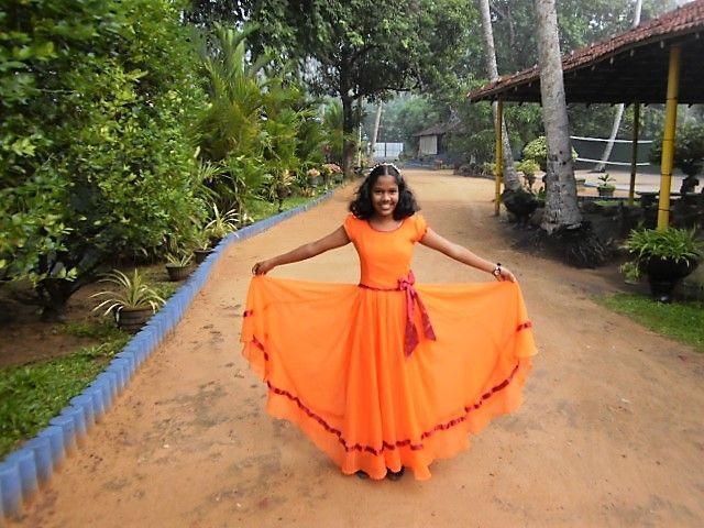 Kawshaliya und ihr Prinzessinnen-Kleid