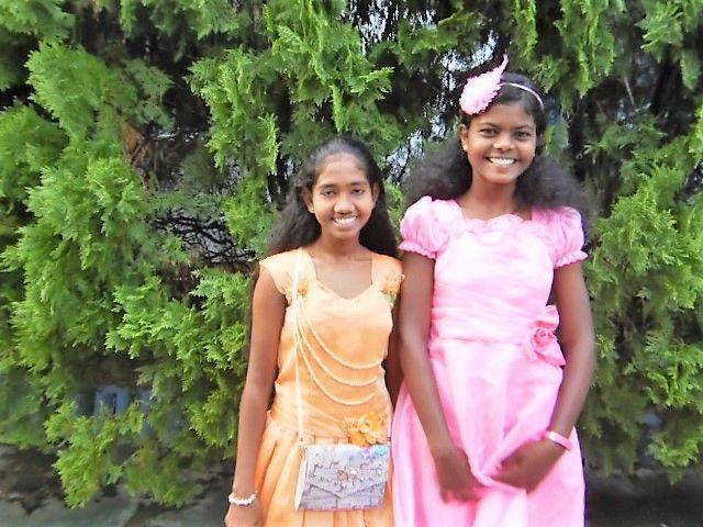 Prinzessinnen Piumi und Maduwanthi