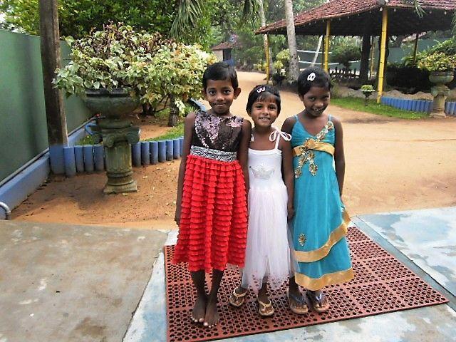 Prinzessinnen-Trio Thilini, Anne und Minushi