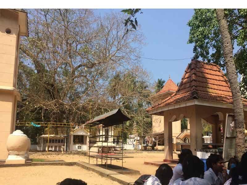 Tempel in Marawila