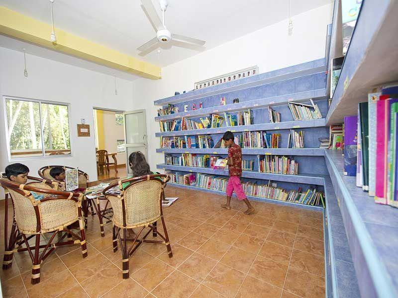 Die Bücherei im Angels Home