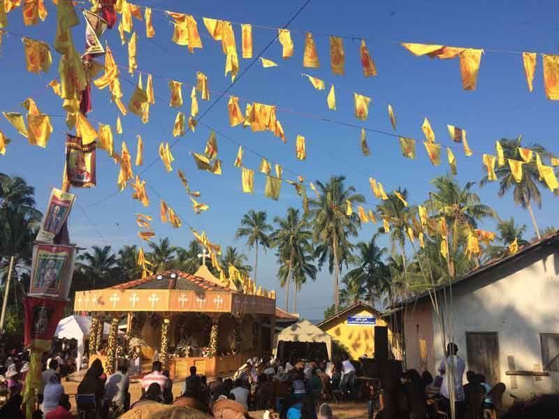 Kirchenfest in Marawila