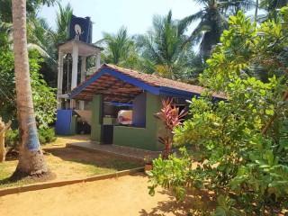 Eines der beiden Häuschen  unseres Aussiedlungsprojekts