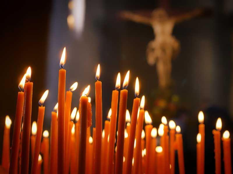 Kerzen der Hoffnung