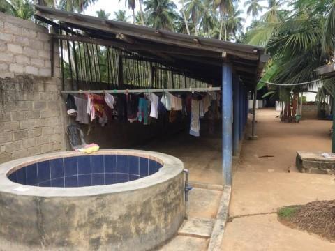 Waschplatz der Mädchen