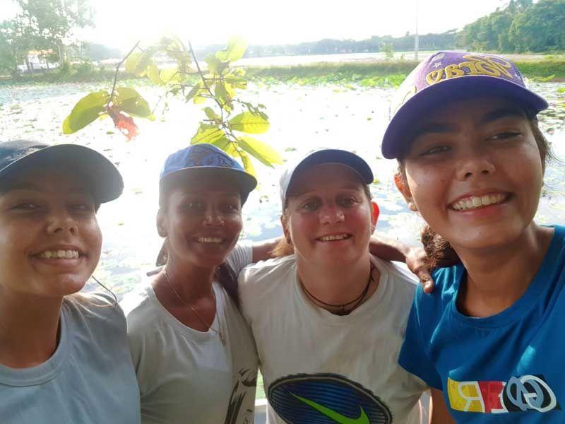 Unsere Mädels-Radelgruppe